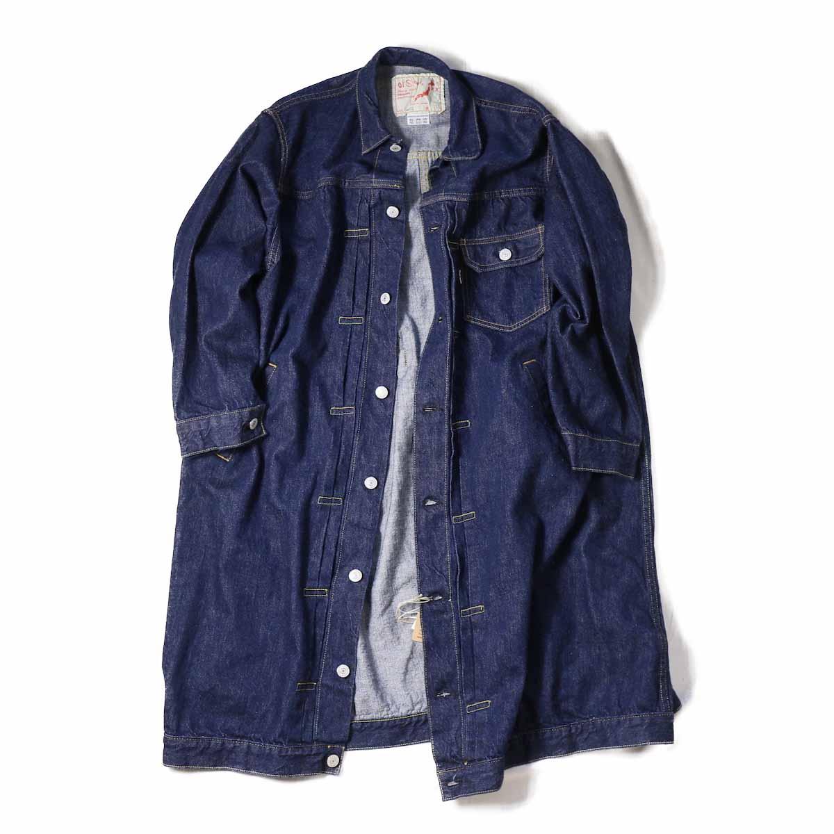 orSlow Ladies /  Pleated Front Coat
