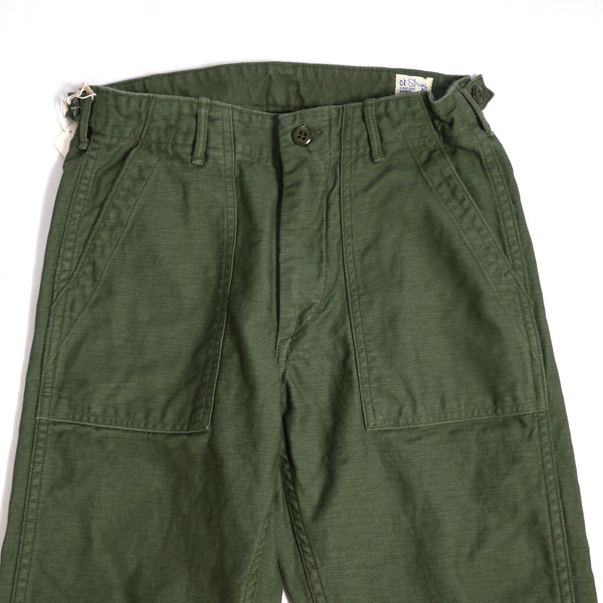 orSlow / SLIM FIT FATIGUE PANTS ウエスト