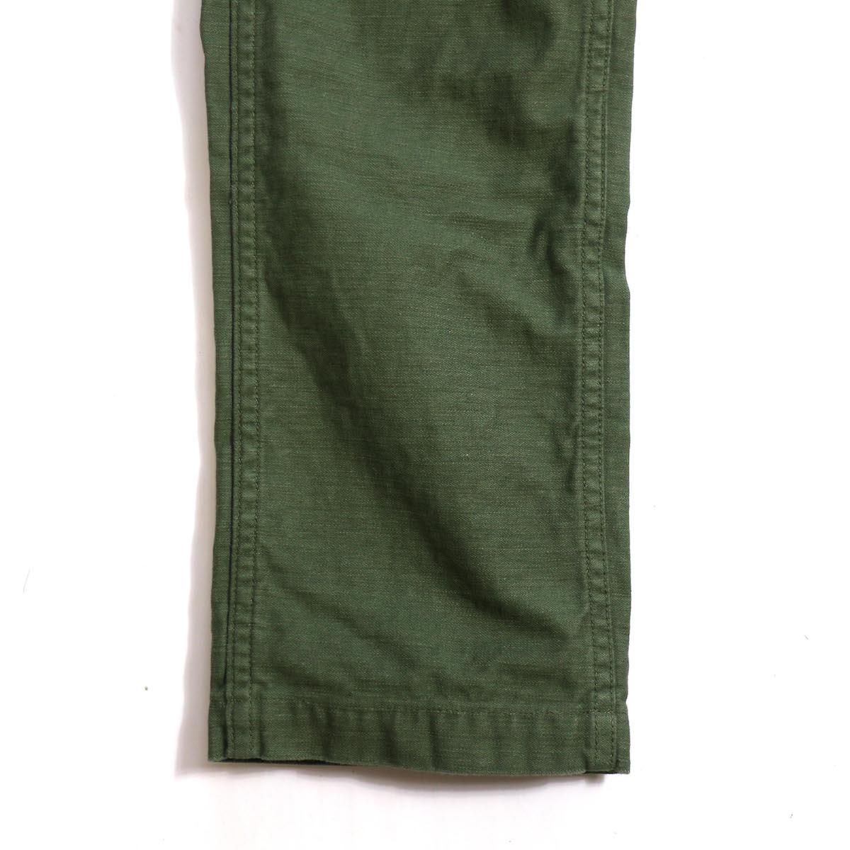 orSlow / SLIM FIT FATIGUE PANTS 裾