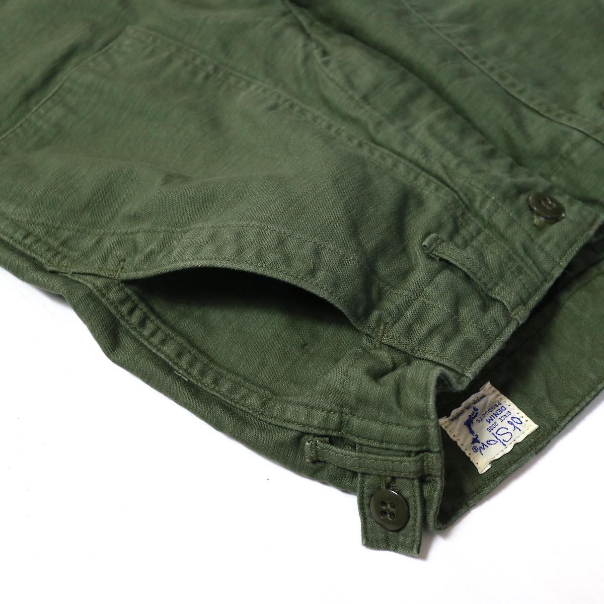 orSlow / SLIM FIT FATIGUE PANTS L型ポケット