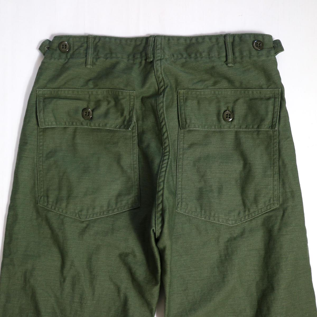 orSlow / SLIM FIT FATIGUE PANTS バックポケット