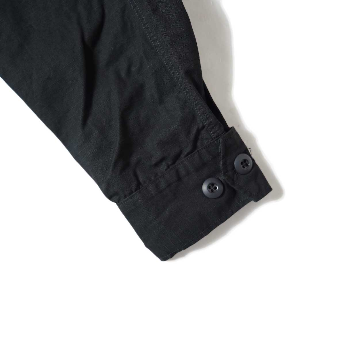 orSlow / US Army Tropical Jacket (Black Rip Stop) 袖
