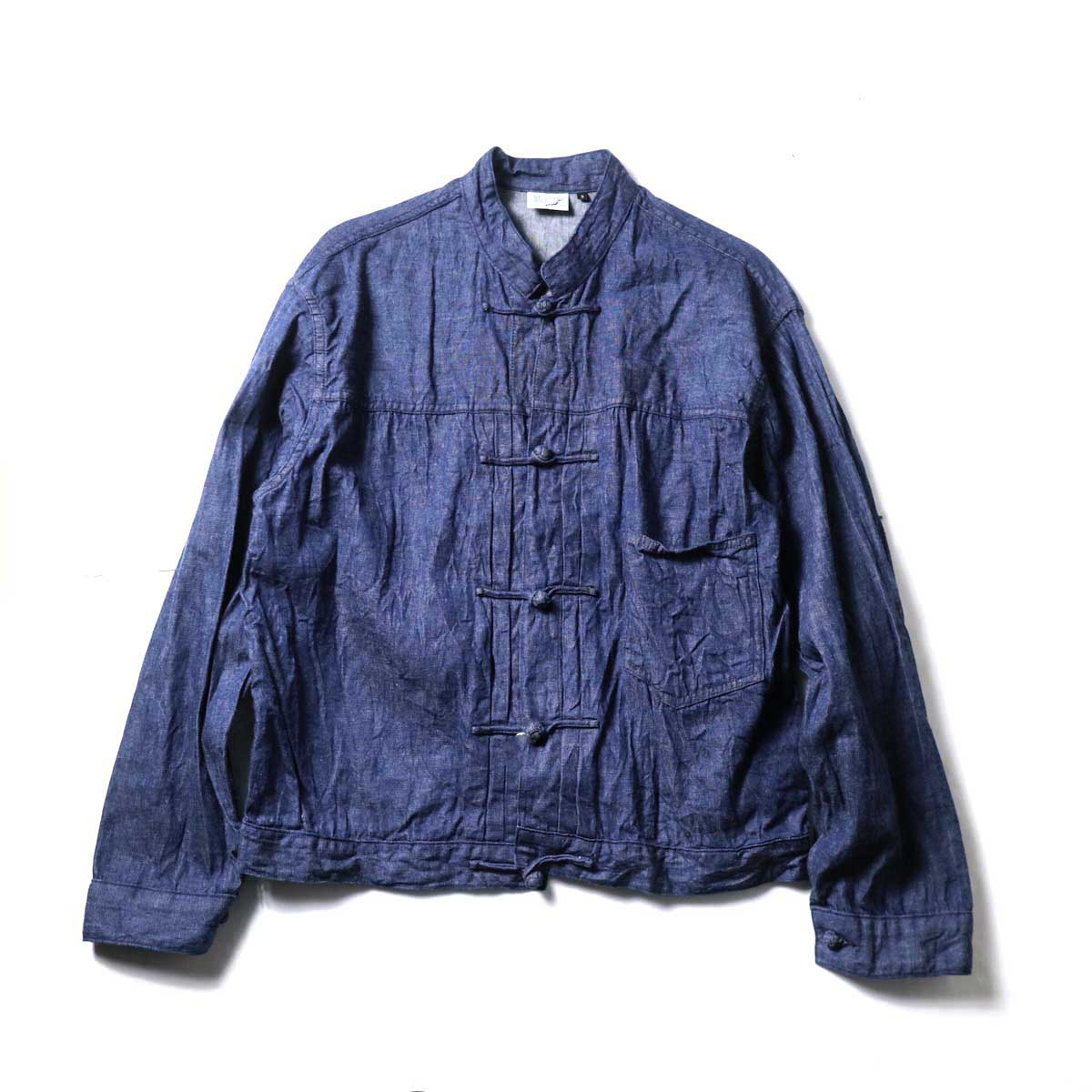orSlow / Frog Button Denim Jacket (Indigo)