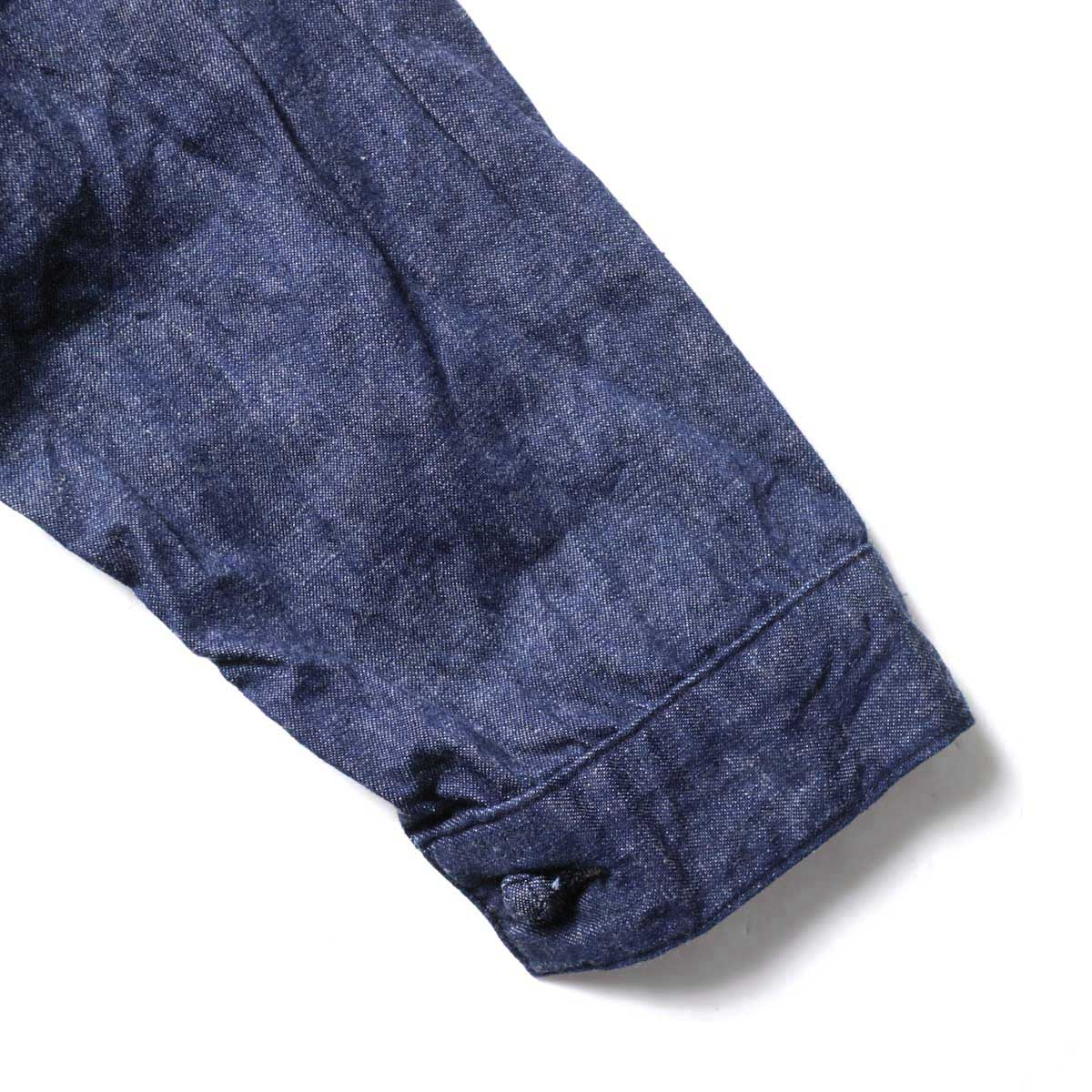 orSlow / Frog Button Denim Jacket (Indigo) 袖