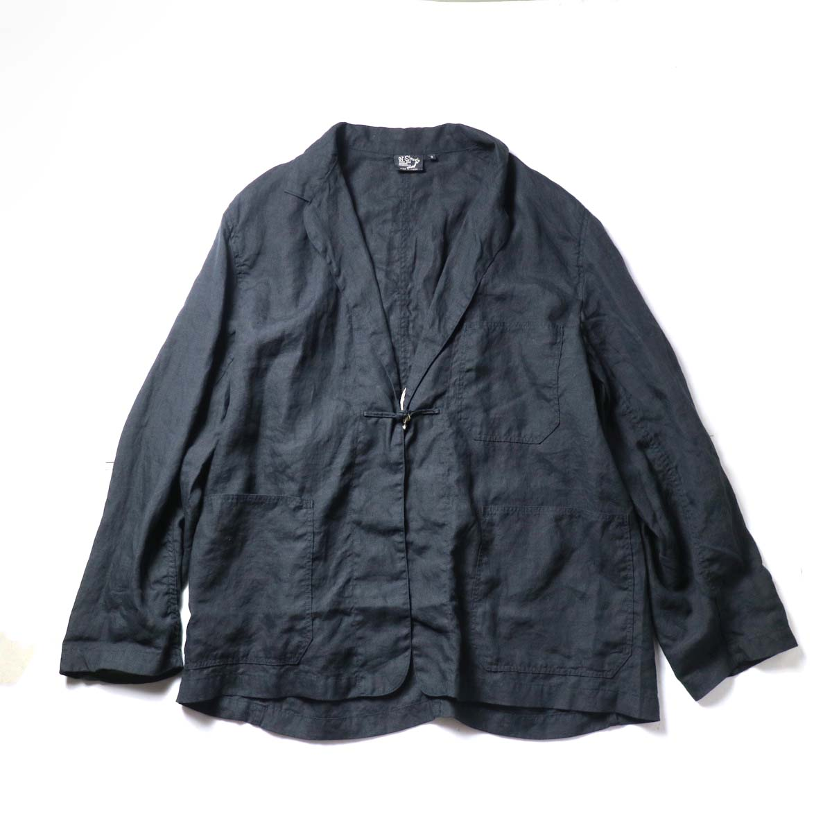 orSlow / Frog Button Linen Jacket 正面