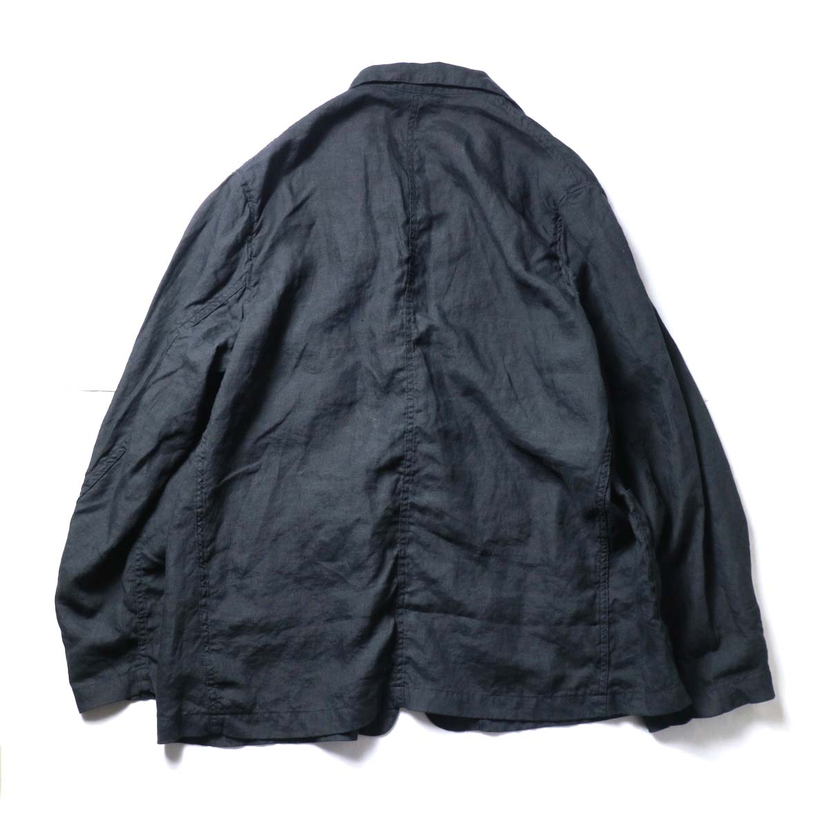 orSlow / Frog Button Linen Jacket 背面