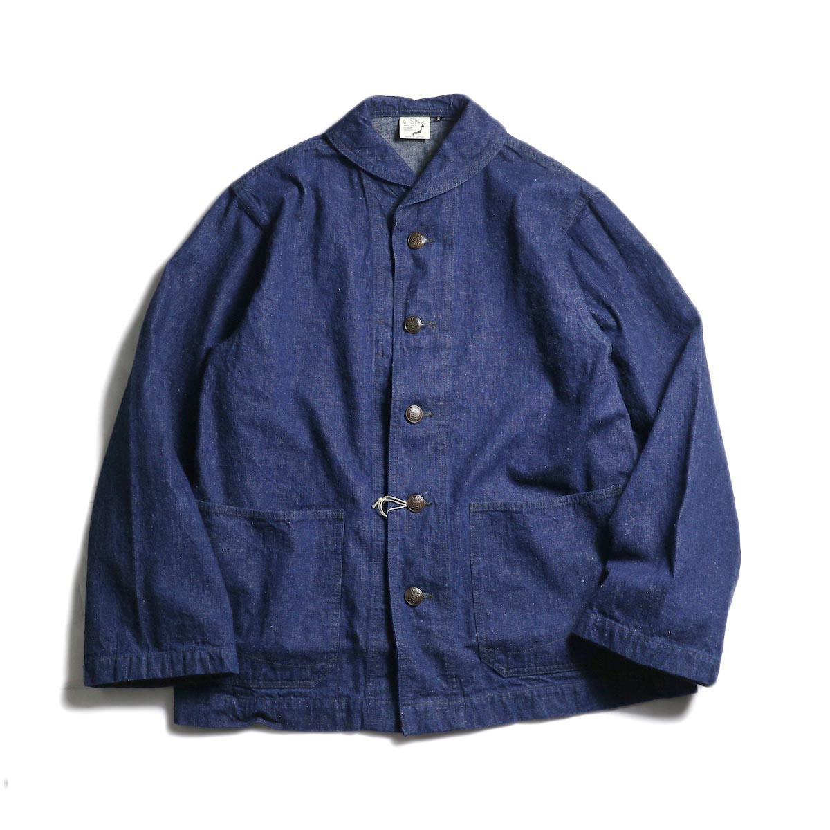 orSlow / US NAVY SHAWL COLLAR JACKET (One Wash)正面