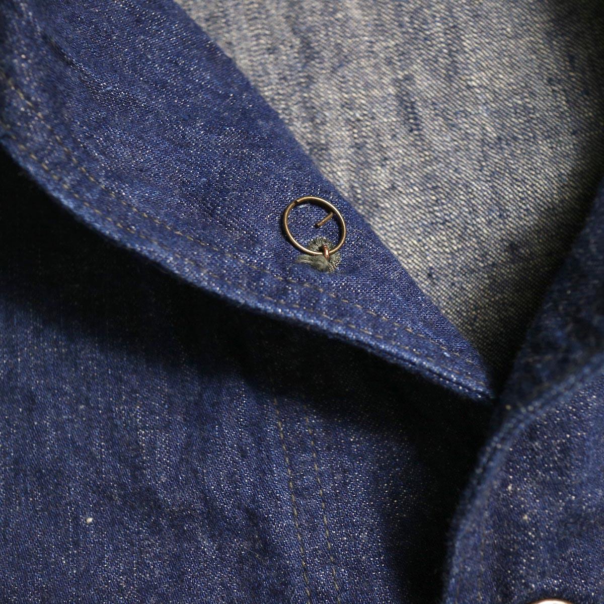 orSlow / US NAVY SHAWL COLLAR JACKET (One Wash)ボタン