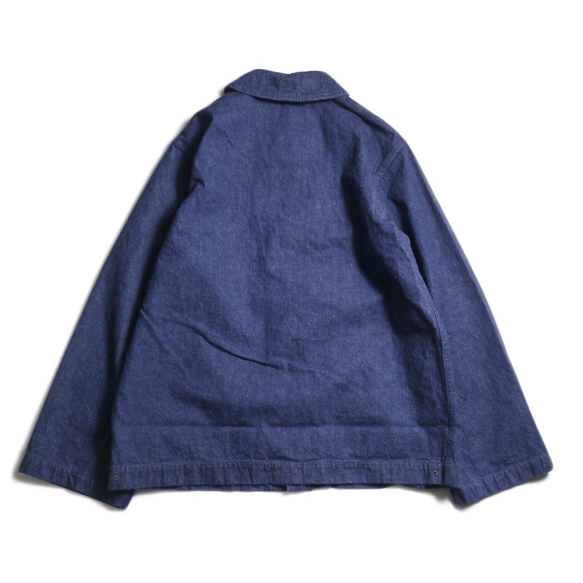 orSlow / US NAVY SHAWL COLLAR JACKET (One Wash)背面