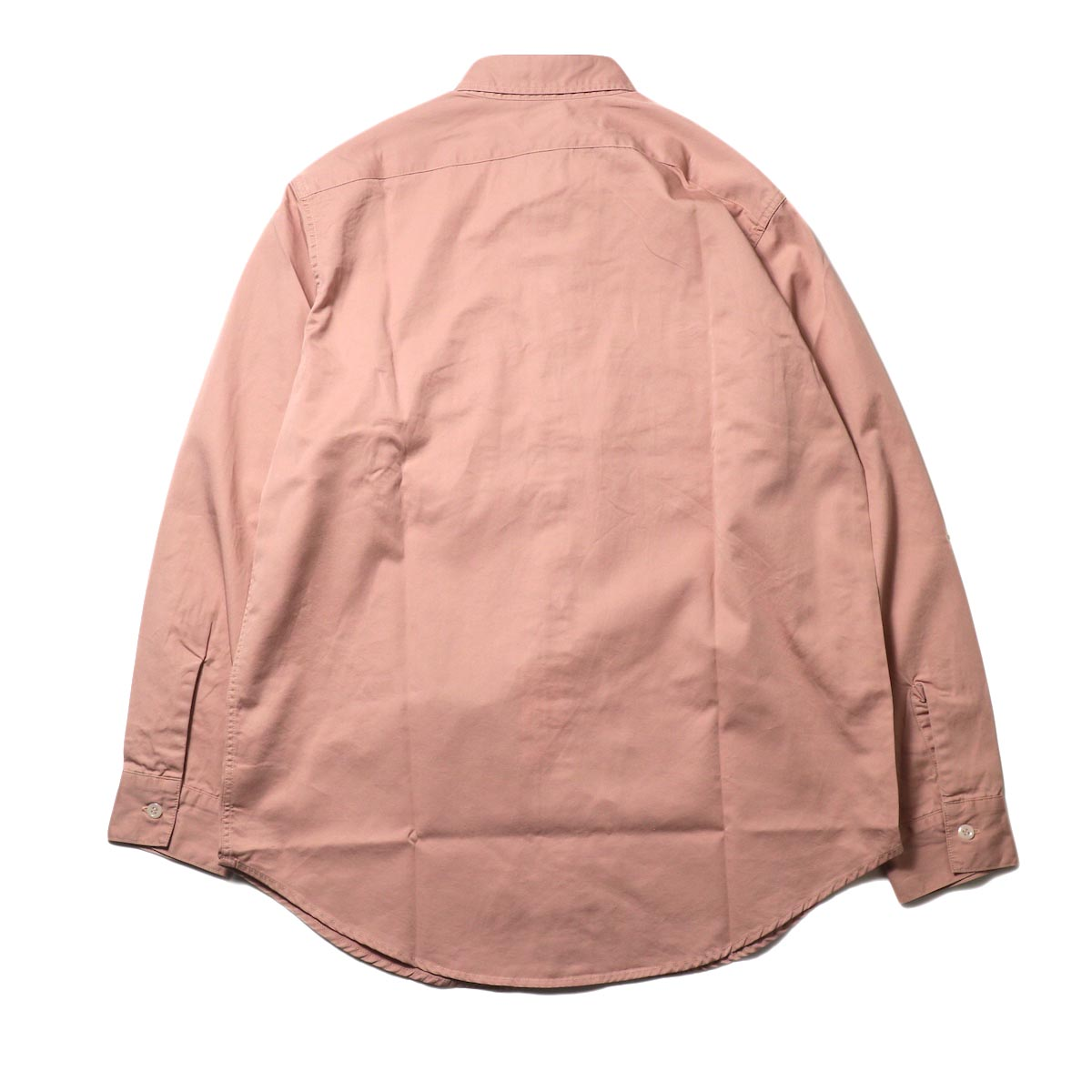 orSlow / UTILITY WORK SHIRT (Pink)背面