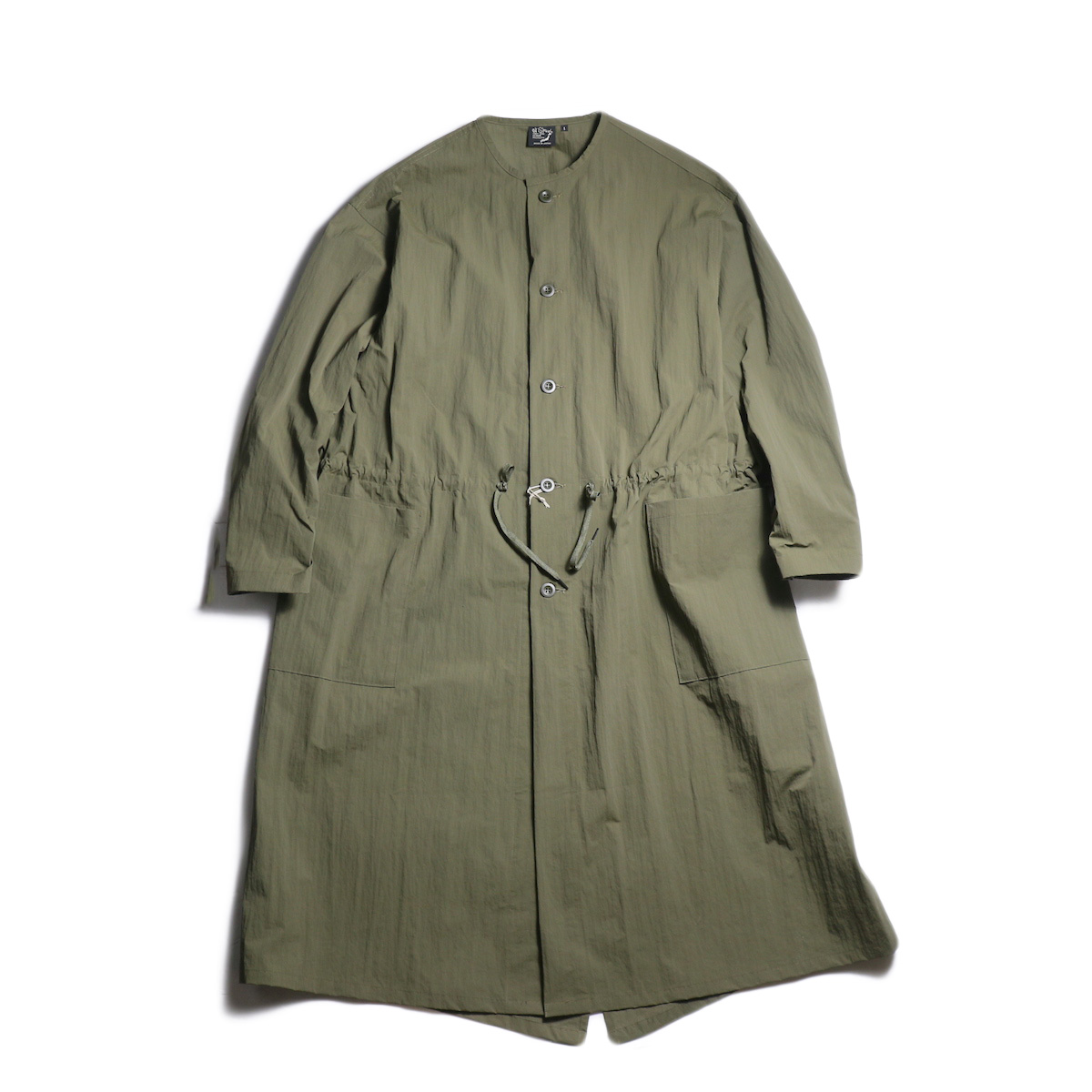 orSlow / NO COLLAR COAT (Army)