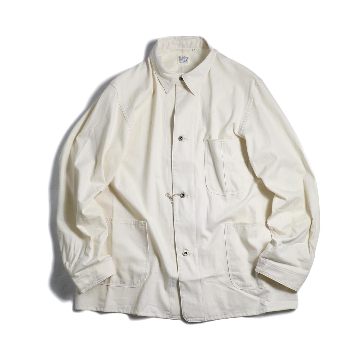 orSlow / 40's Coverall -Ecru
