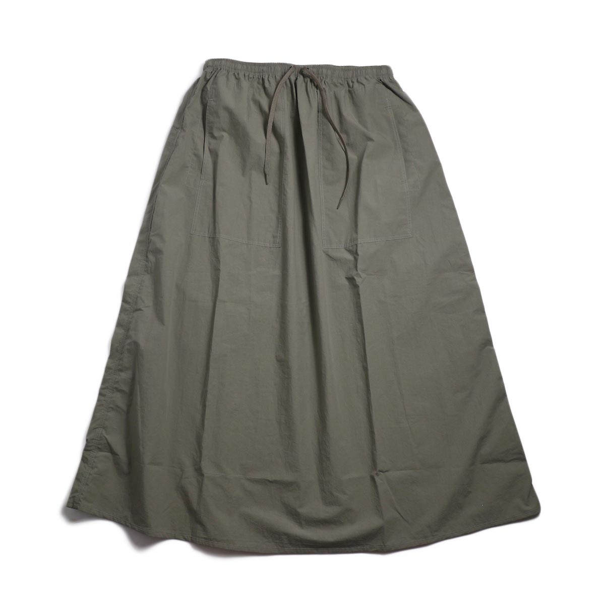 orSlow / Climbing Skirt -Greige 正面