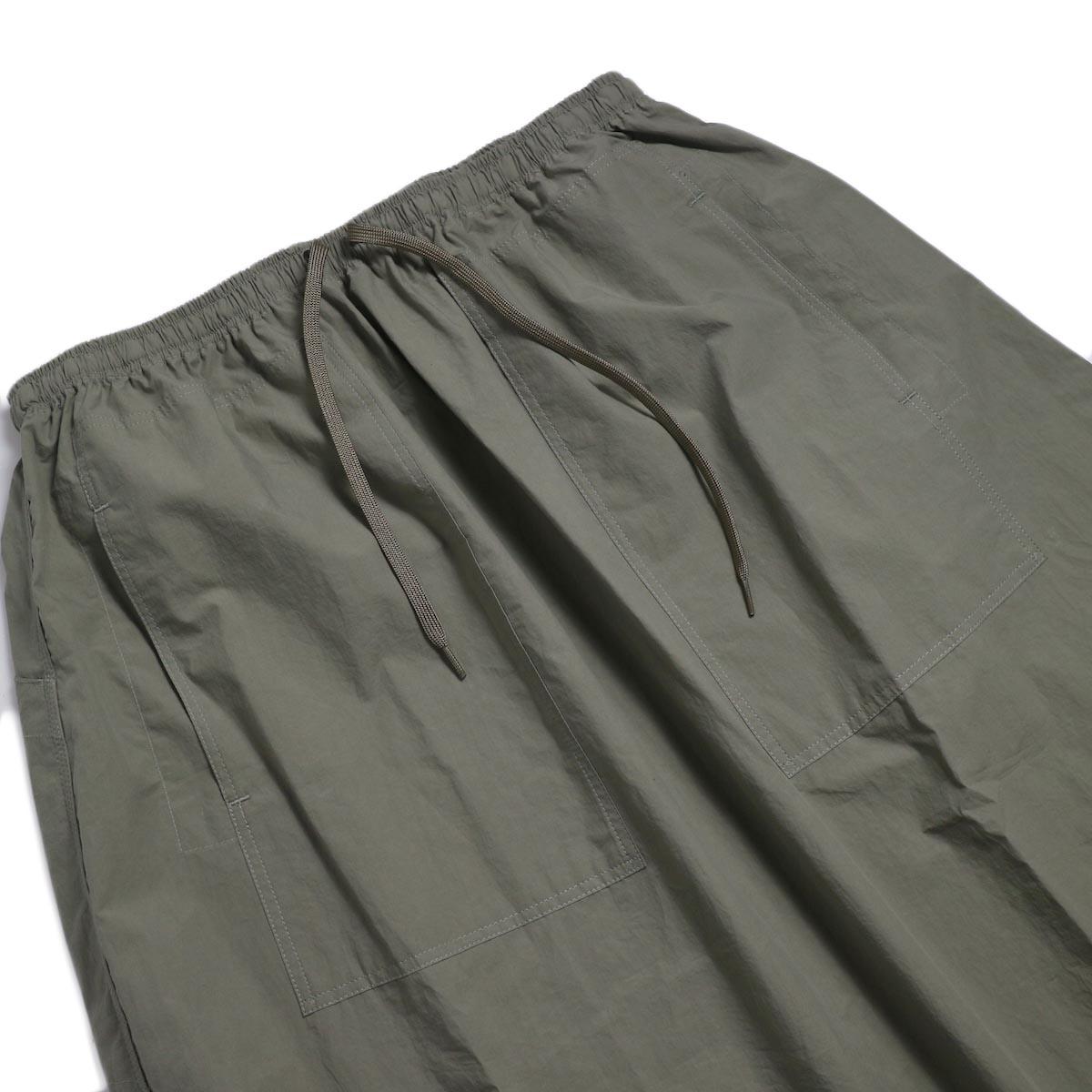 orSlow / Climbing Skirt -Greige ウエスト
