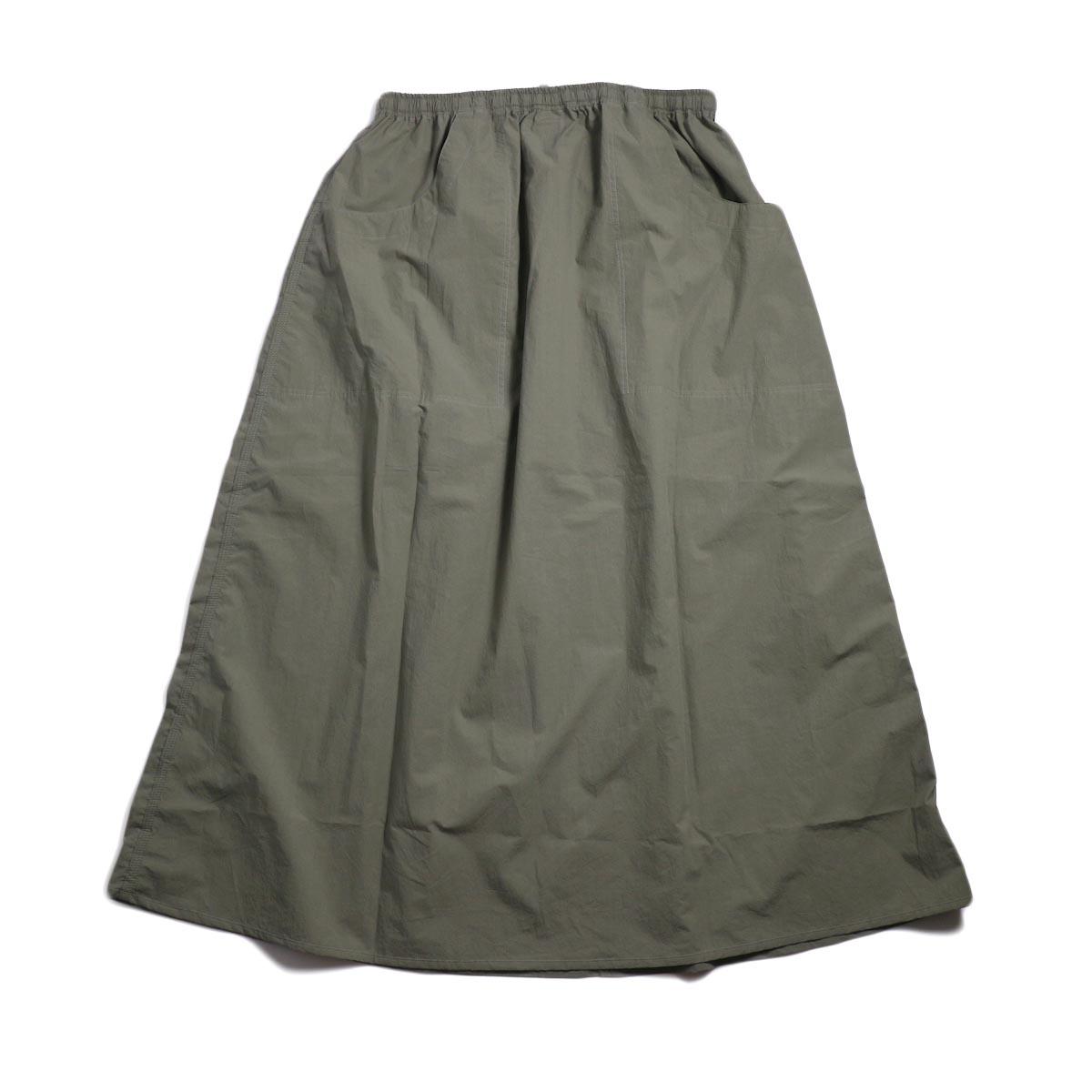 orSlow / Climbing Skirt -Greige 背面