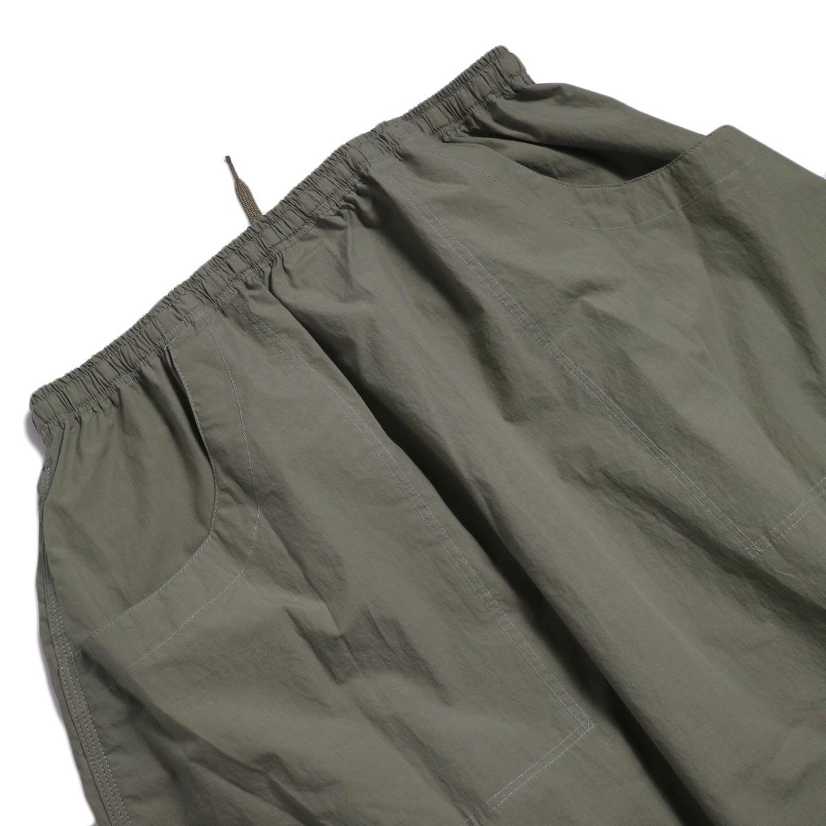 orSlow / Climbing Skirt -Greige バックポケット
