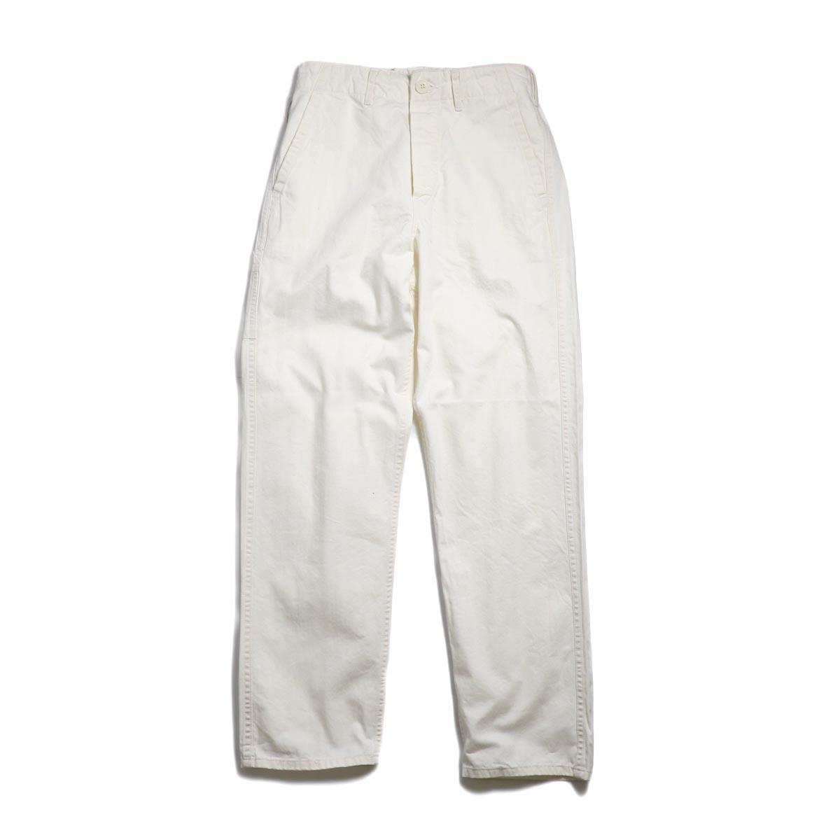 orSlow / French Work Pants -Ecru