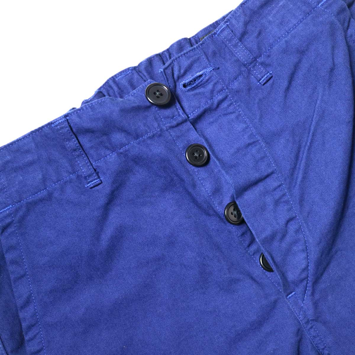 orSlow / French Work Pants (Blue) ボタンフライ