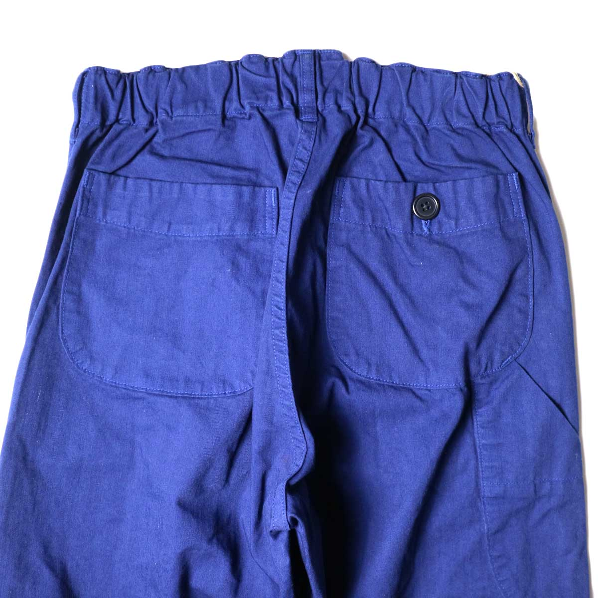 orSlow / French Work Pants (Blue) バッグポケット