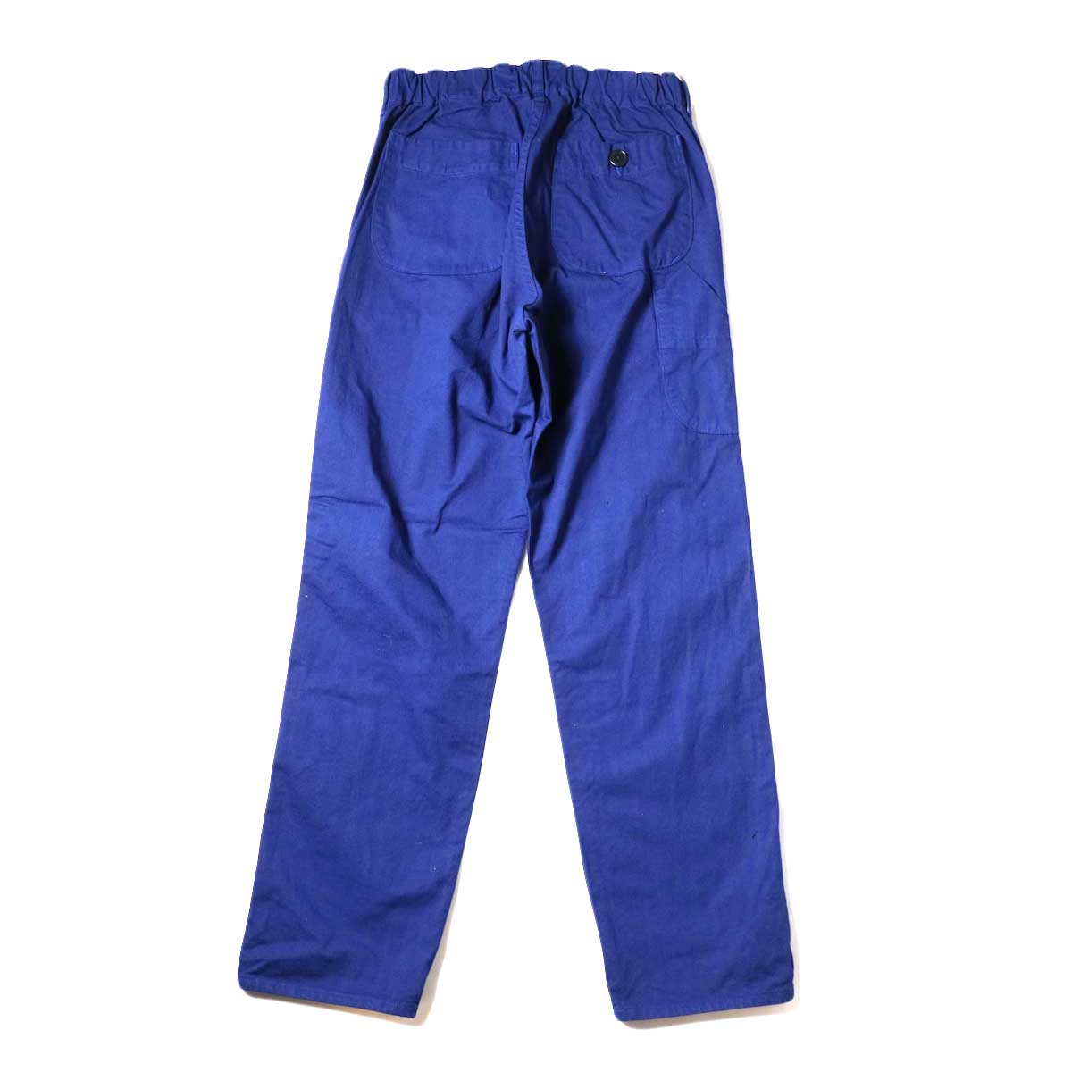 orSlow / French Work Pants (Blue) 背面