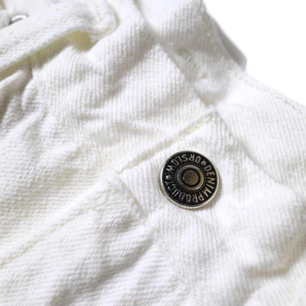 orSlow / High Waist Denim Pants (Jasmin) ウエストボタン