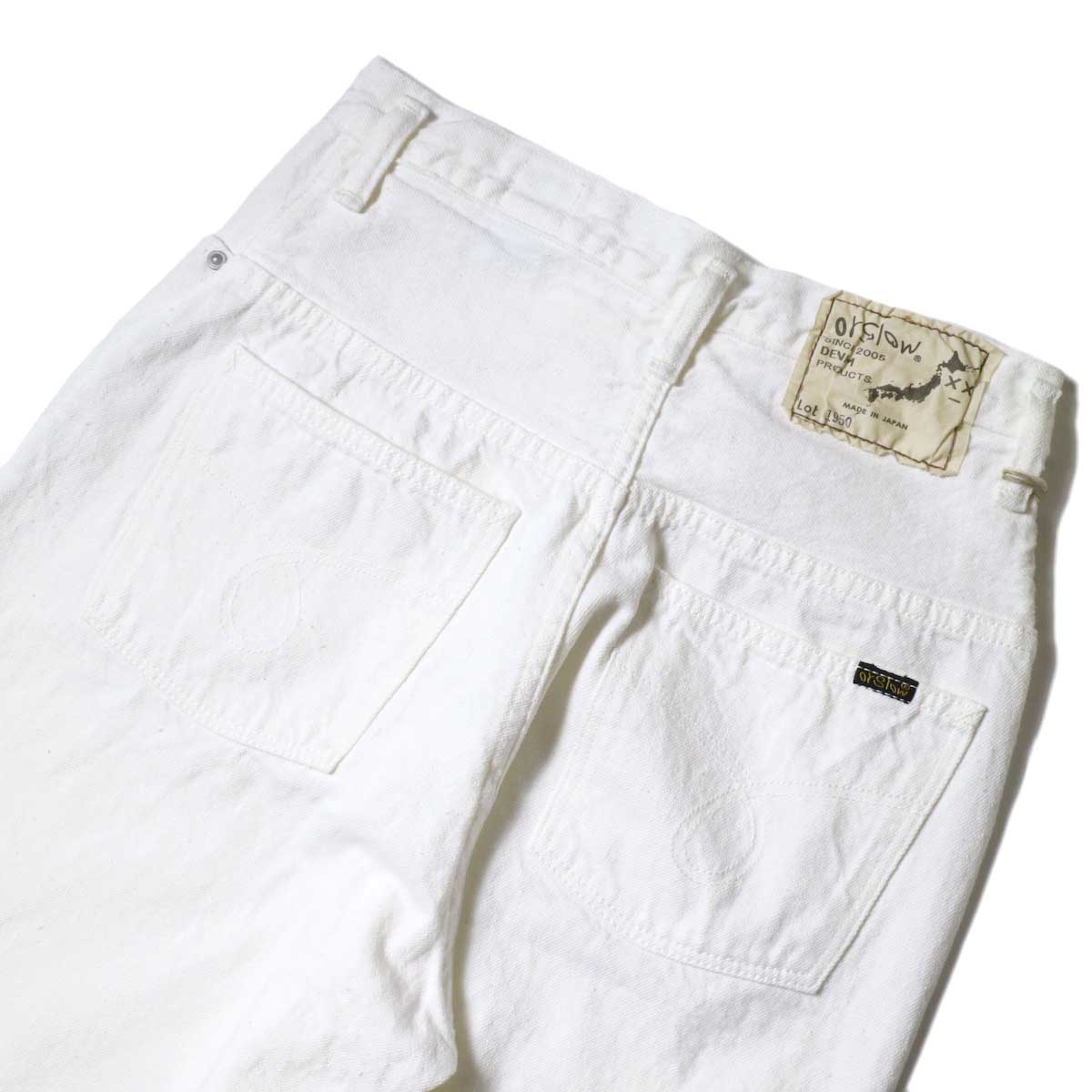 orSlow / High Waist Denim Pants (Jasmin) バックポケット