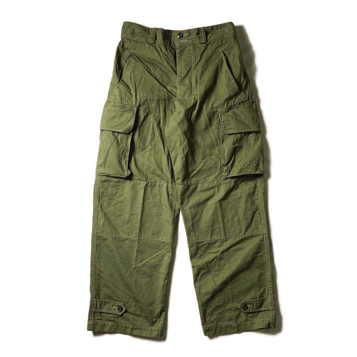 orSlow / M-47 FRENCH ARMY CARGO PANTS (ARMY GREEN)
