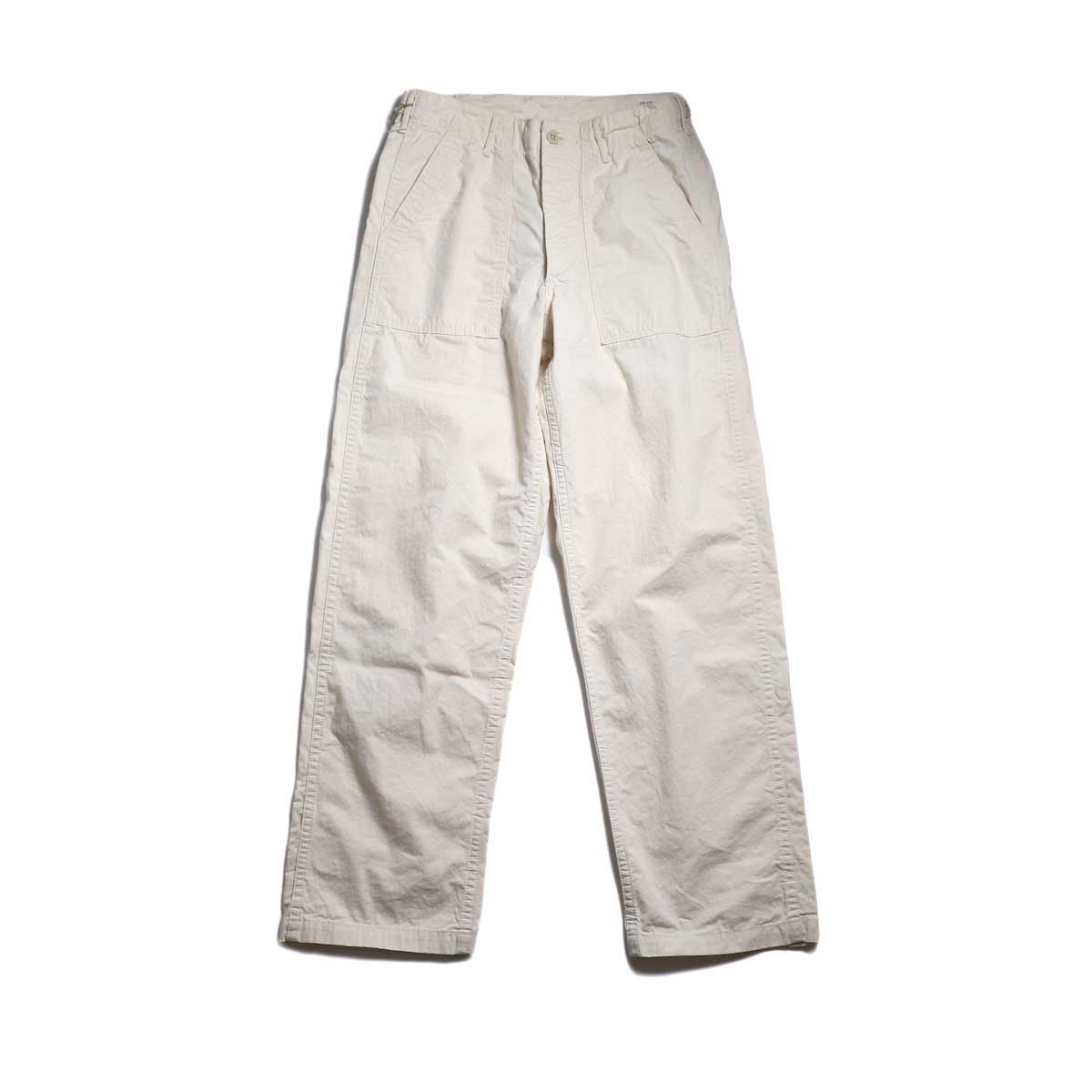 orSlow / US ARMY FATIGUE PANTS -ECRU