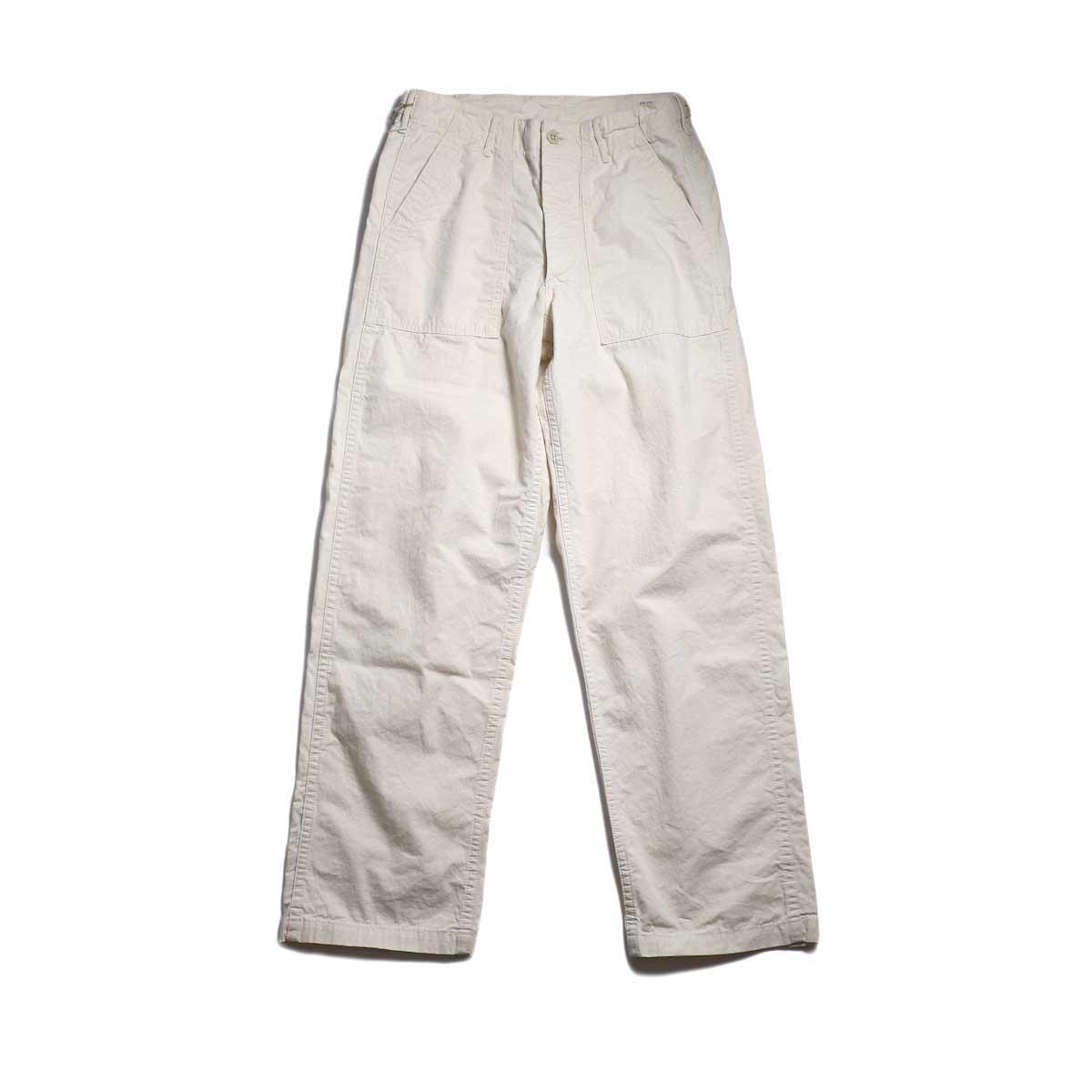 orSlow / US ARMY FATIGUE PANTS -ECRU
