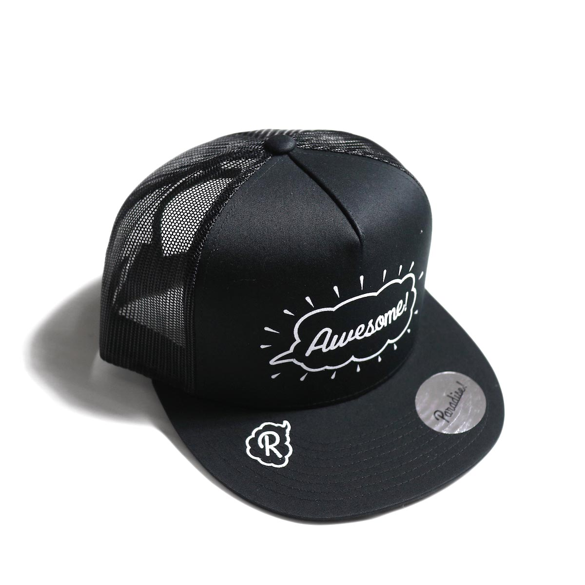 Paradise! / mesh cap (Awesome) -BLK×BLK