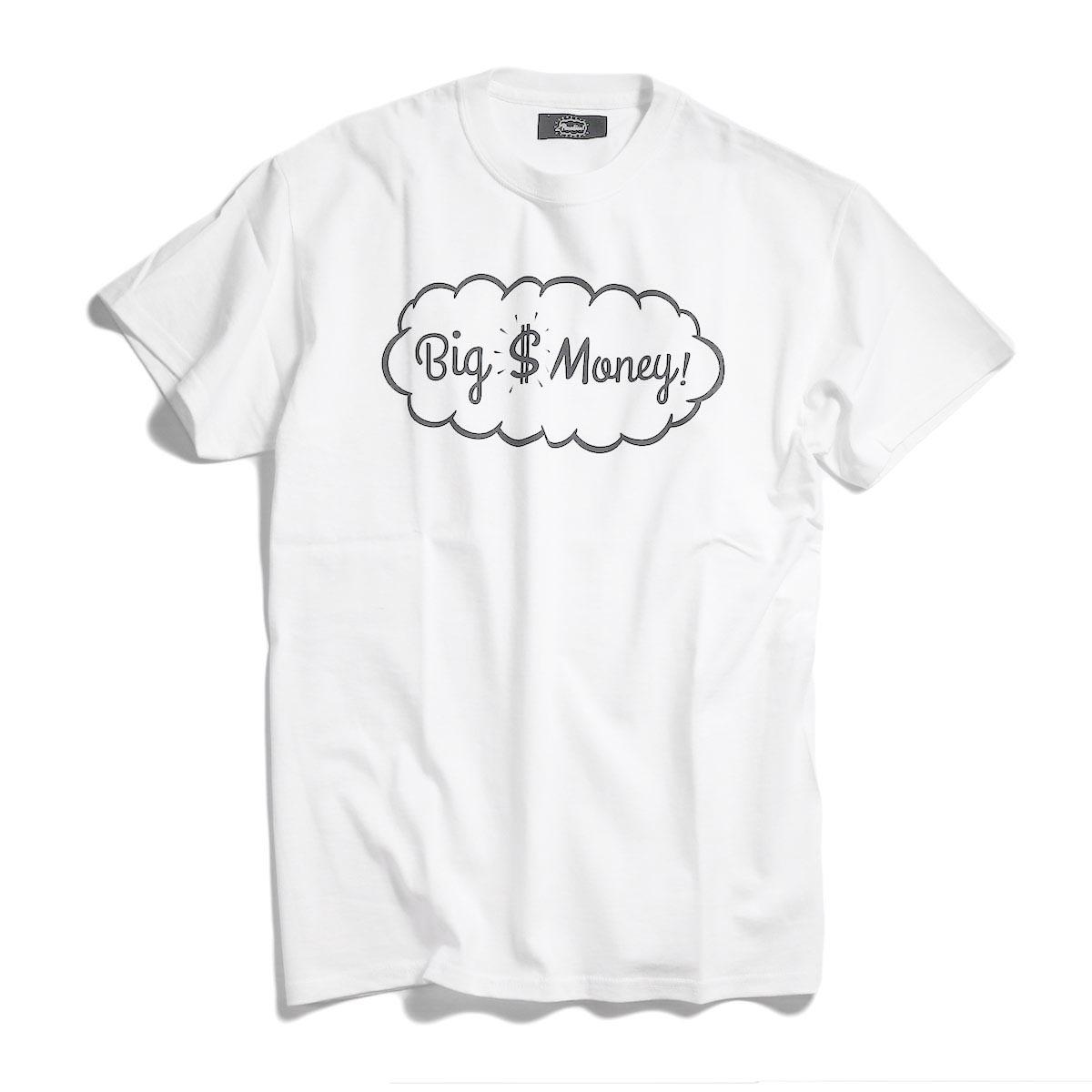 Paradise! / T-Shirt (C'mon) -WhiteParadise! / T-Shirt (Big Money) -White