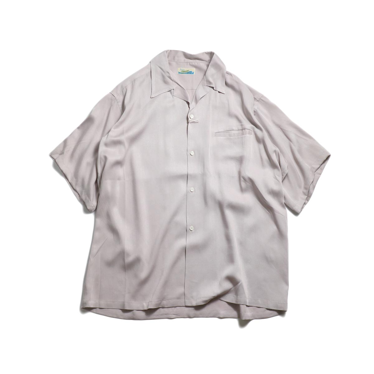 PENNEY'S / Hawaii Solid Shirts -Beige