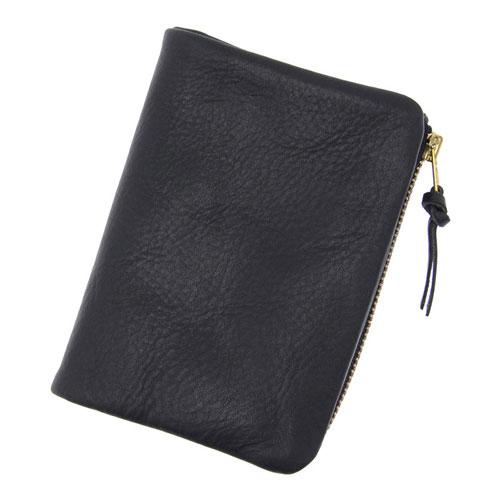 PORTER / SOAK Middle Wallet -Black