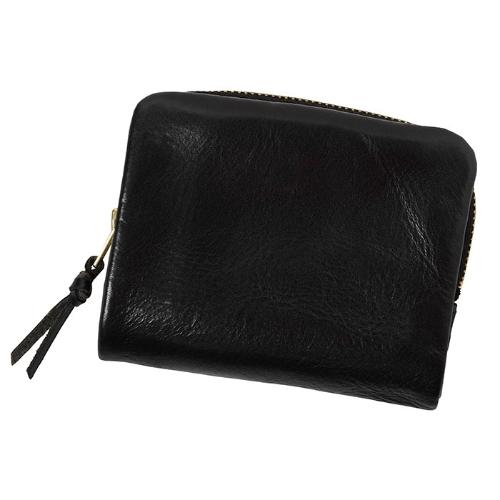 PORTER / SOAK Compact Wallet -Black