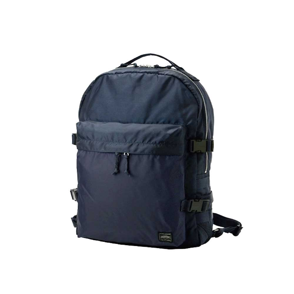 """PORTER / """"FORCE"""" DAYPACK (Navy)正面"""