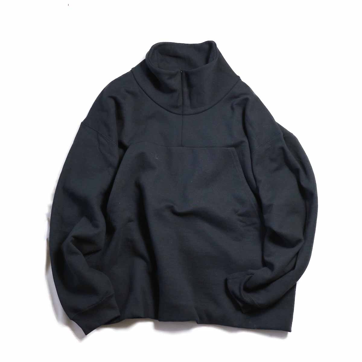 PRE_ / BIG KANGAROO P SWEAT -BLACK