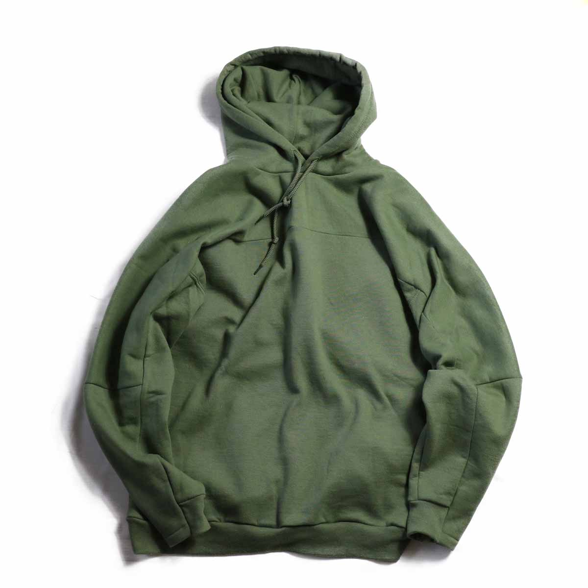 PRE_ / FTB HOODED -MILITARY GREEN