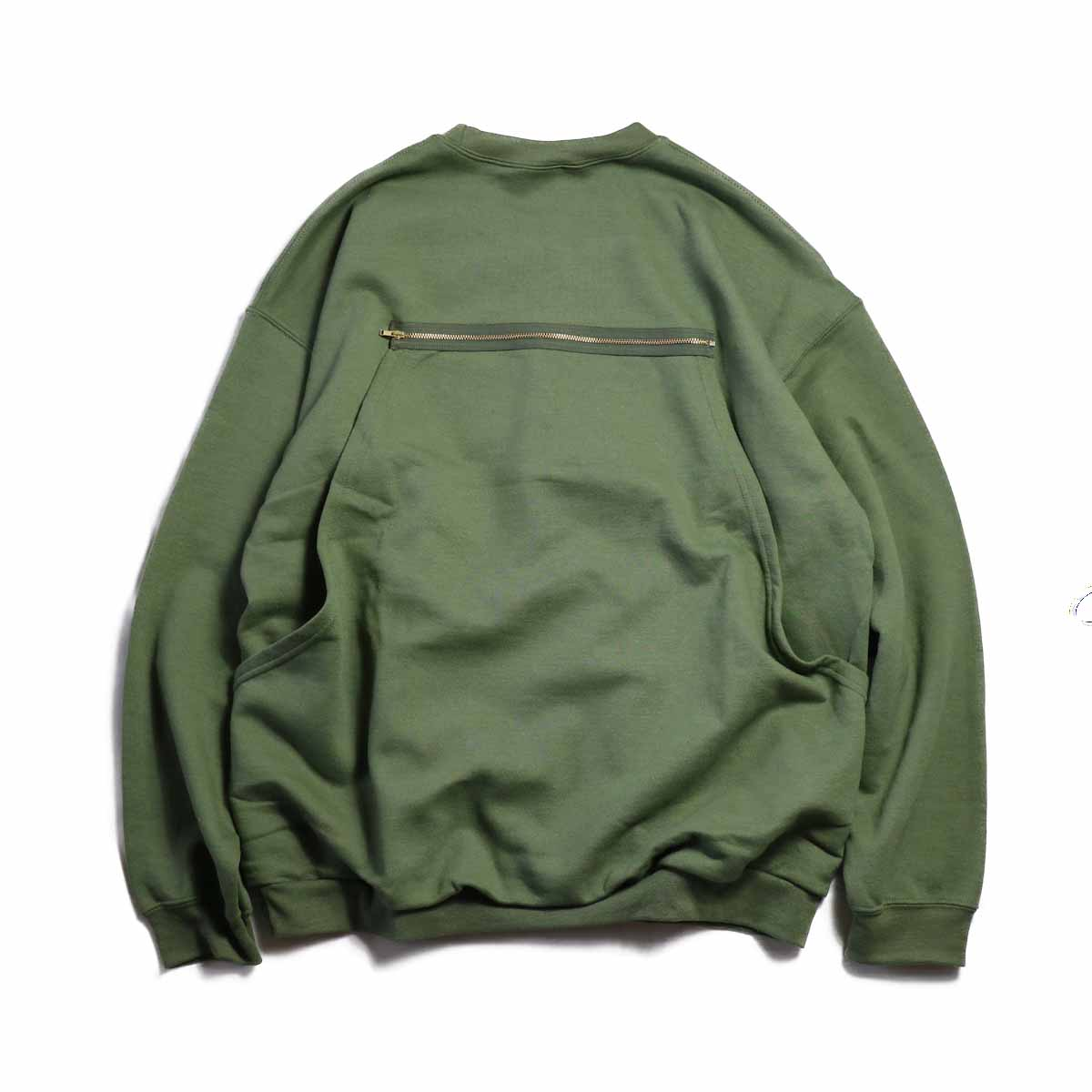PRE_ / HUNTING SWEAT  -MILITARY GREEN