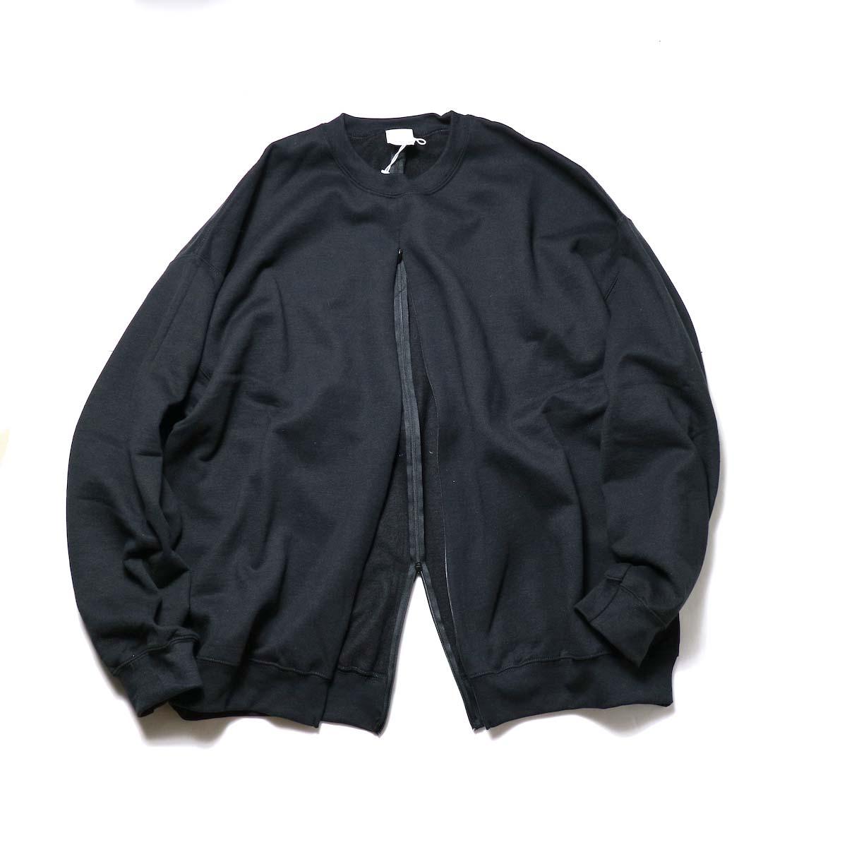 PRE_ / F&B OPEN SWEAT (Black)