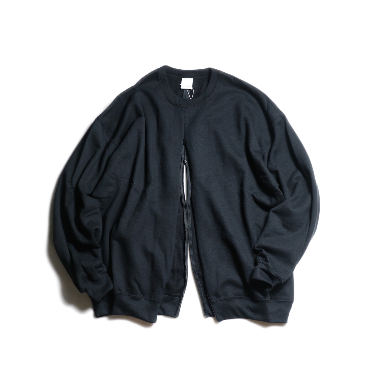 PRE_ / F&B OPEN SWEAT (Black)
