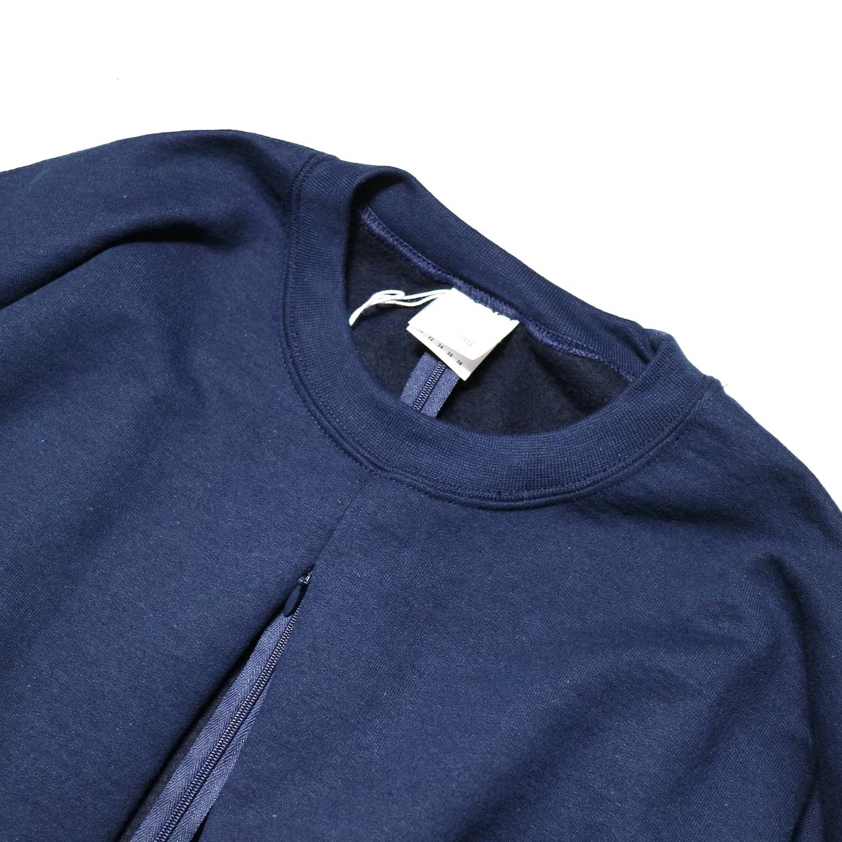 PRE_ / F&B OPEN SWEAT (Navy)クルーネック