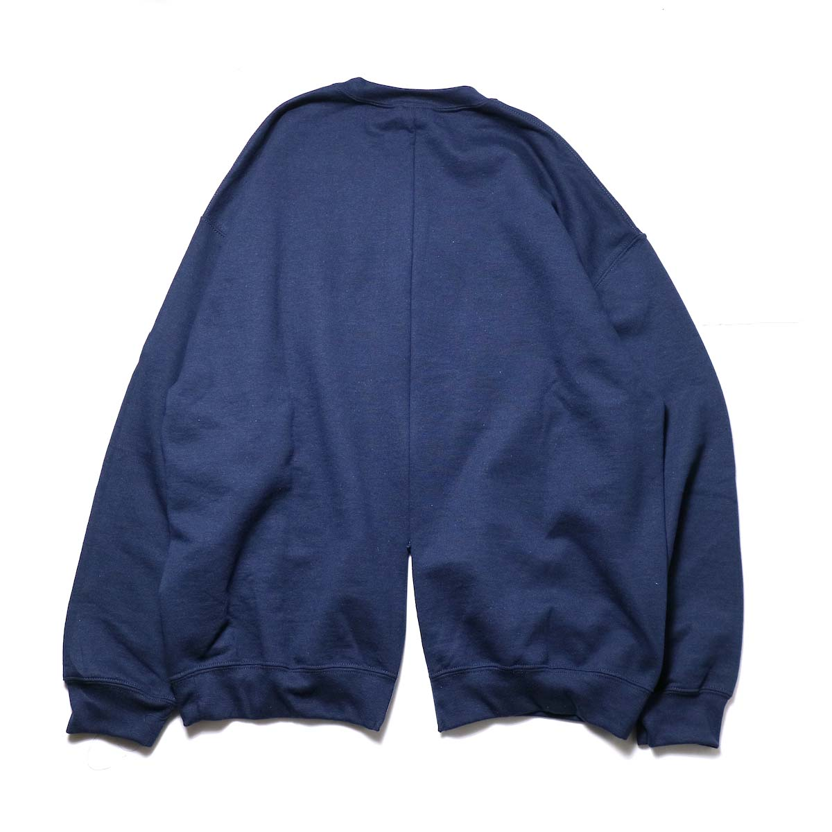 PRE_ / F&B OPEN SWEAT (Navy)  背面