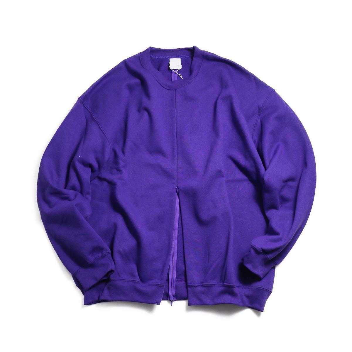 PRE_ F&B Open Sweat -Purple