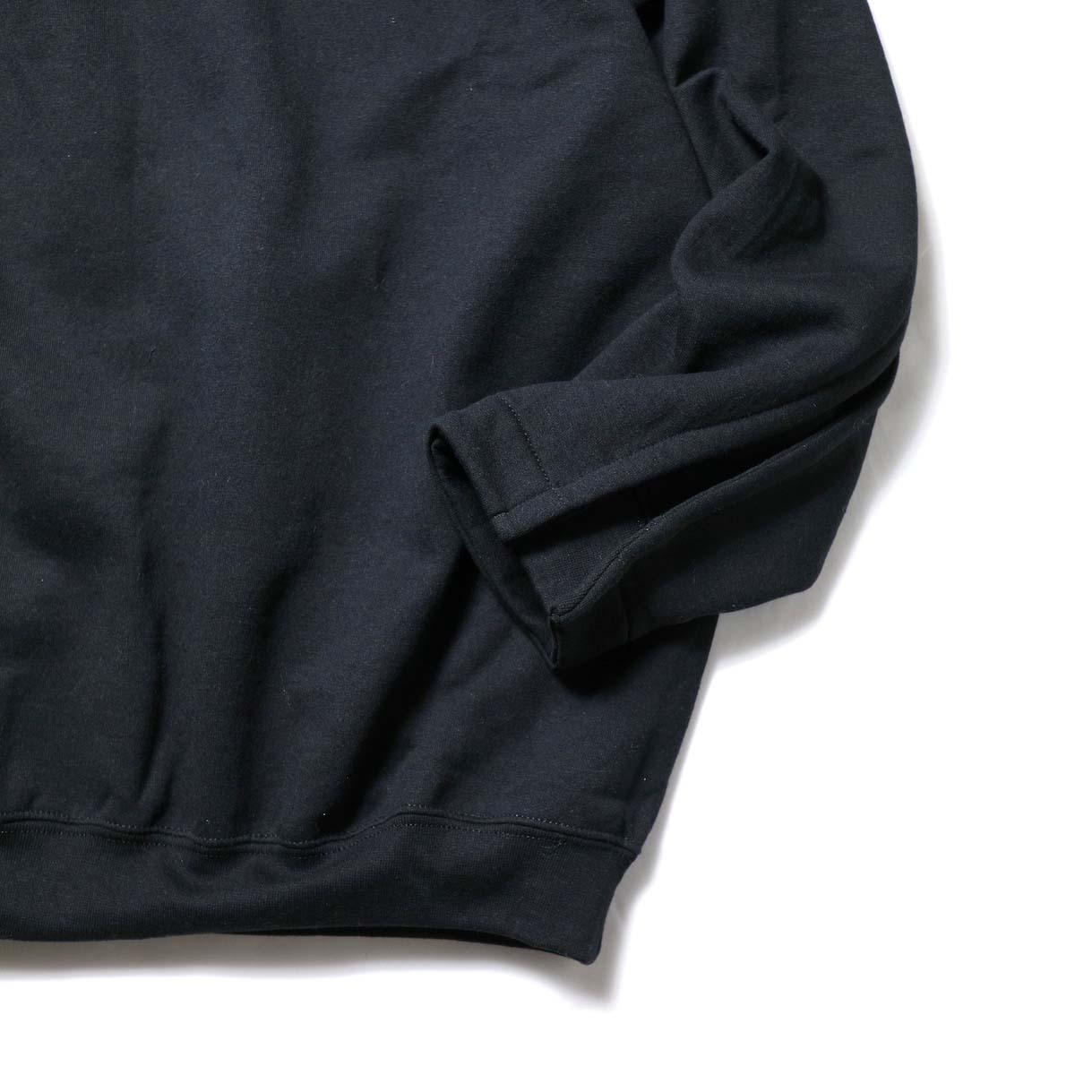 PRE_ / FG SWEAT (Black)裾、袖