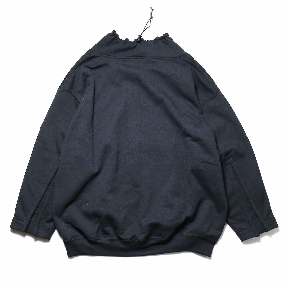 PRE_ / FG SWEAT (Black)背面