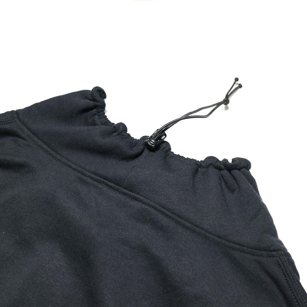 PRE_ / FG SWEAT (Black)ドローストリング
