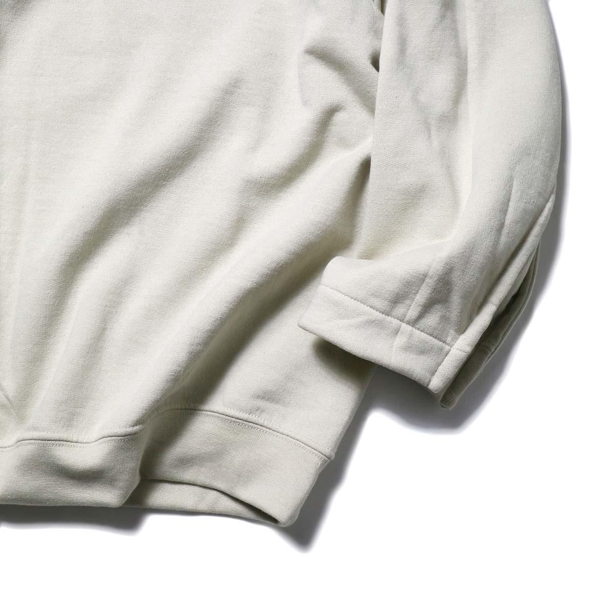 PRE_ / FG SWEAT (Sand)裾、袖