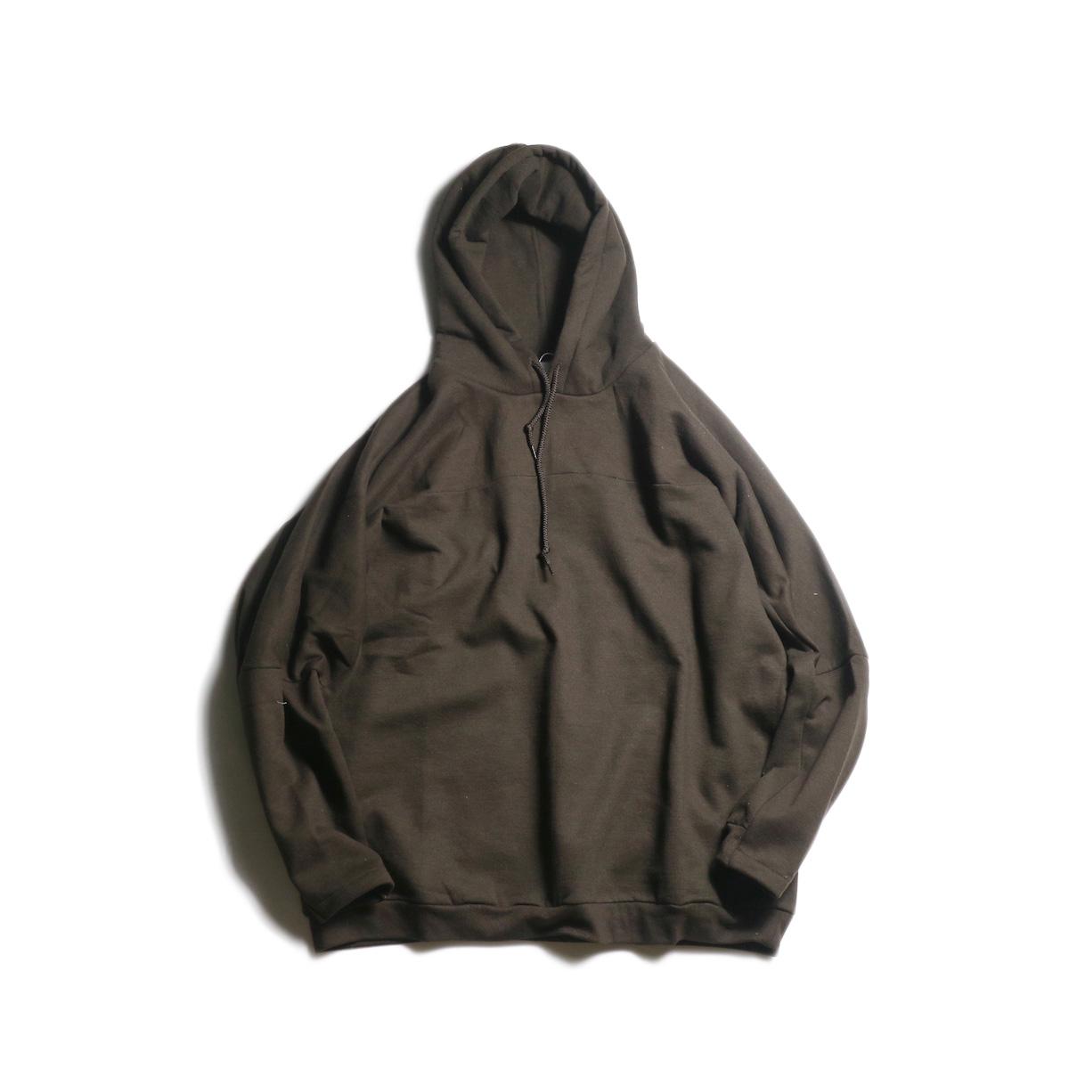 PRE_ / FTB Hooded (Dark Chocolate)