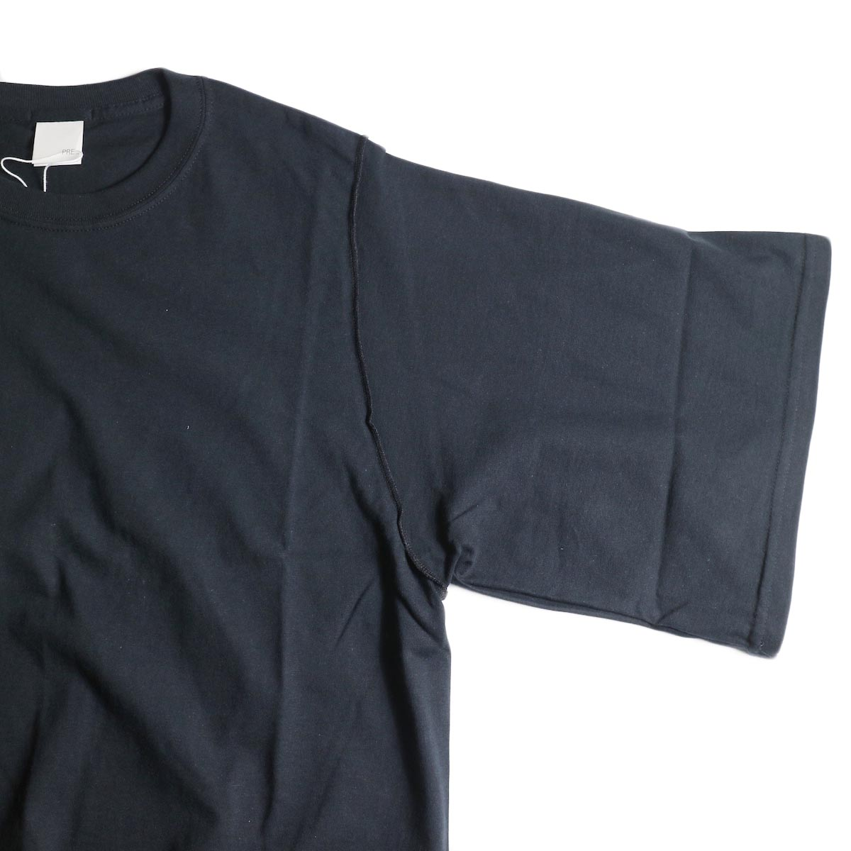 PRE_ / INSIDE OUT WIDE SLEEVE T (Black)袖