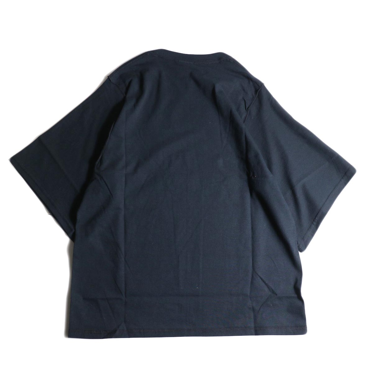 PRE_ / INSIDE OUT WIDE SLEEVE T (Black)背面